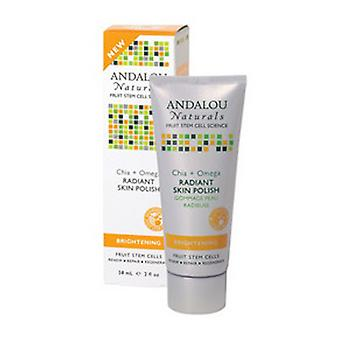Andalou Naturals Osteo Protect, Chia Omega + C Brightening, 2 Oz
