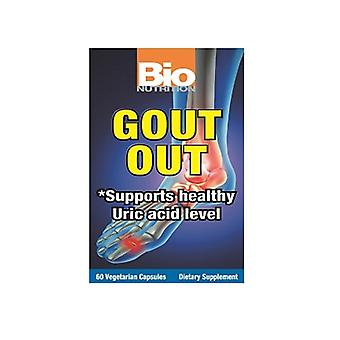 Bio Nutrition Inc Gout Ulos, 60 VCaps