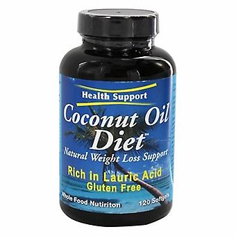Health Support Coconut Oil Diet, 120 Cap