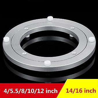 Aluminum Alloy Small Turntable Plate Table Smooth Swivel Rotating Bearing Turntable Round