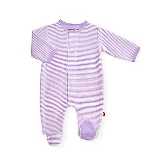 Magnetic Me™ Velour Magnetic Baby Footie