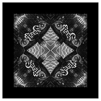 Ghost Bandana Meliora Album Logo Repeat Official New Black (21in x 21in)