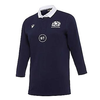 2020-2021 Skottland Hem Bomull Rugby Shirt (Womens)