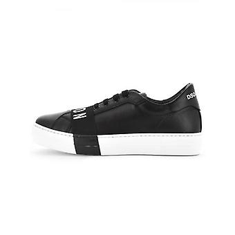 DSQUARED2 Kids Black Lace Up Trainers