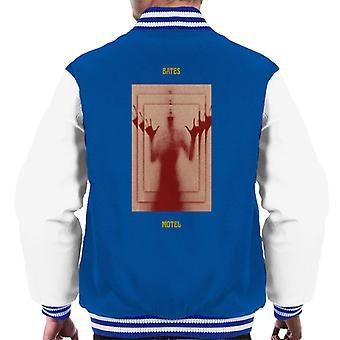 Psycho Bates Motel Norman Bates Mirror Effect Men's Varsity Jacket