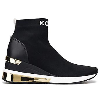 Skyler Extreme gestrickte Socke Sneaker mit GoldEinsätze