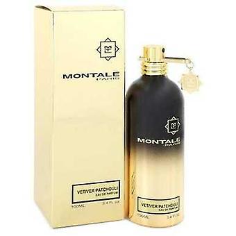 Montale Vetiver Patchouli von Montale Eau De Parfum Spray (unisex) 3.4 Oz (Frauen) V728-550547