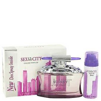 Sex In The City Lust By Unknown Eau De Parfum Spray + Free 1.7 Oz Deodorant Spray 3.4 Oz (women) V728-449493