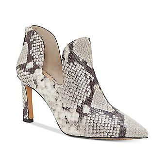 Vince Camuto Womens Randin Lizard Pointed Toe Ankle Fashion Boots