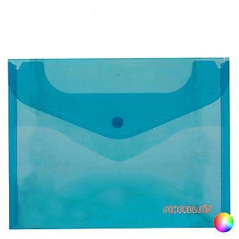 Envelopes Organiser Plastic Velcro A5 (1 x 18,5 x 24 cm)