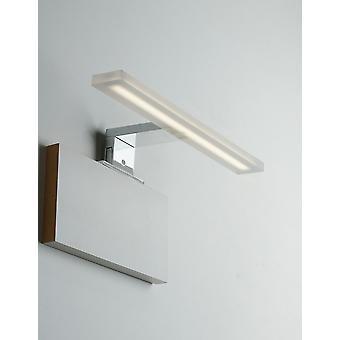 Fan Europe Aqa - Bathroom LED Above Mirror wall lamp, Chrome, IP44, 4000K