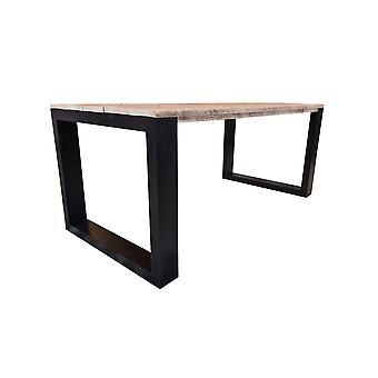 Wood4you - Esstisch New Orleans - Gerüstholz 180Lx78Hx96D cm