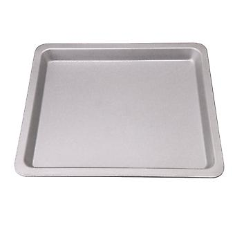 Silver Non stick Flat Bottom Coated Baking Sheet Pan for Oven Roasting