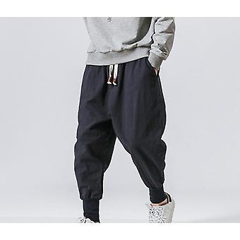 Man Pants La modă Casual Bottoms Pantaloni Fit Pantaloni