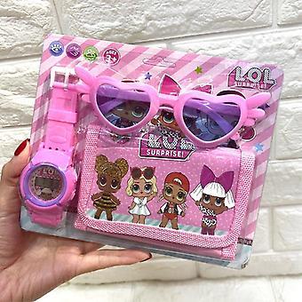 Original Surprise Dolls, Digital Anime Kids Watch (pink)