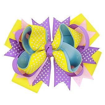 Hair Bows, Hair Bows Clips Ribbon Cute Bows Accessoires voor Baby Girls Teens Peuters