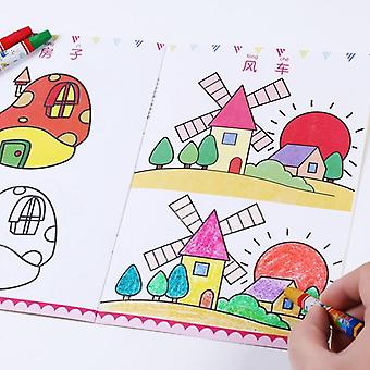 Children Kids Cute Stick Figure  Books Easy To Learn Drawing Book