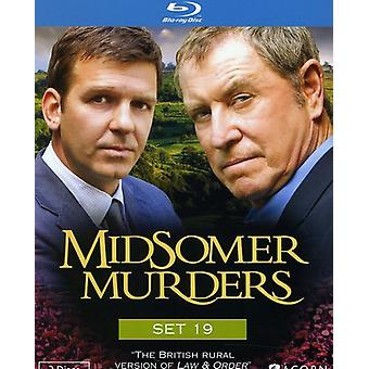 Midsomer Murders: Set 19 [BLU-RAY] USA import