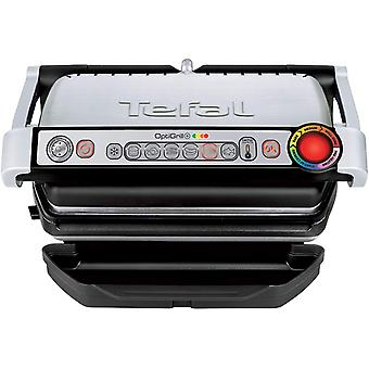 Tefal OptiGrill+ GC713D40 Intelligent Health Grill, Stainless Steel, 2000W