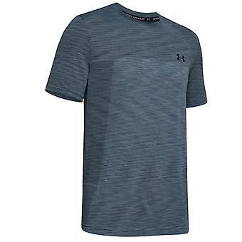 Under Armour Vanish Seamless Mens Gym T-Shirt Running Grey Top 1345309 013
