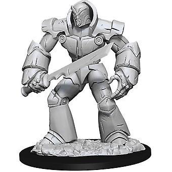 D&D Nolzur's Unpainted Miniatures Iron Golem (Pack of 6)