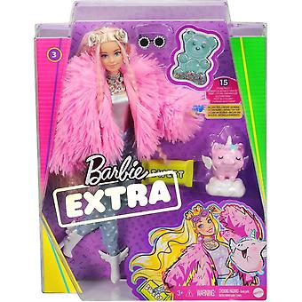Barbie Fluffy Pink Extra Doll