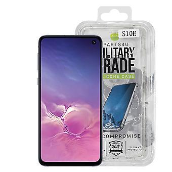 iParts4u Military Grade Silicone Case - Samsung Galaxy S10e - Clear