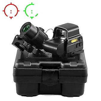 Collimator Holographic Sight Red Dot Optic Sight Reflex Met Rail Mounts