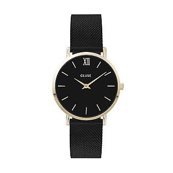 Cluse Unisex Minuit Gold Circle Quartz Fashion Watch CW0101203009