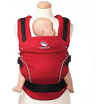 Manduca Backpack Baby Carrier Chile Red Pure Cotton