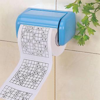 Kylpyhuone Pehmeä wc pehmopaperi (musta)