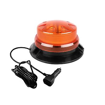 9-28v Led Rotating, Flashing Emergency, Strobe Warning Light With Magnetic