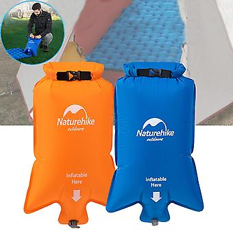 Naturehike Portable Nylon Inflatable Bag Waterproof Dry Sack Pouch For Air Mattresses Sleeping Mat P