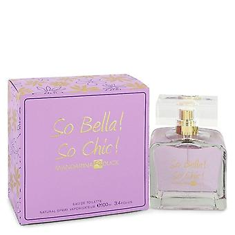 So Bella! So Chic! Eau De Toilette Spray By Mandarina Duck 3.4 oz Eau De Toilette Spray
