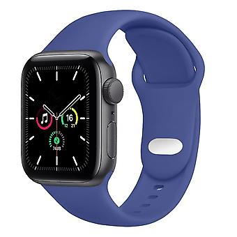Silicone Strap For Apple Watch Band 44mm 40mm 38mm 42mm Accessories Wristband