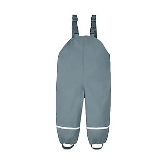 Waterproof Rain Romper, Pants Fleece Warm, Overalls Pu Winter, Jumpsuit