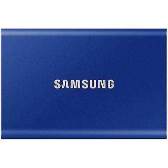 Samsung T7 Tragbare SSD - 500 GB - USB 3.2 Gen.2 Externe SSD Indigo Blau (MU-PC500H/WW)