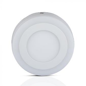 V-tac VT-2209 Mini lampe de plafond LED - 22 Watt - 3000K - Ronde