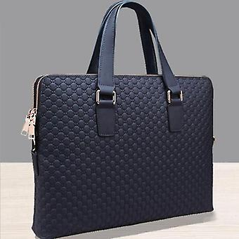 Genuine Leather Men Handbag