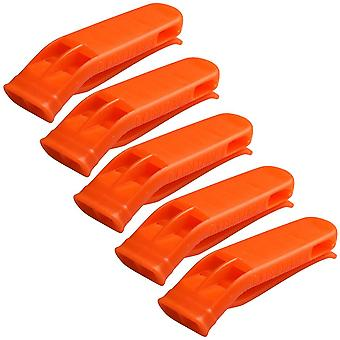 Sports Match Dual Band Whistle, Plastic Outdoor Camp Hiking Survival Loud