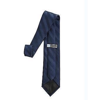 4Cm * 6cm * 8cm الرجال الأزرق الداكن الكلاسيكي نحيل المنسوجة التعادل ضئيلة x5716