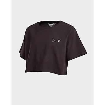 New Sonneti Girls' Essential Crop T-Shirt from JD Outlet Black