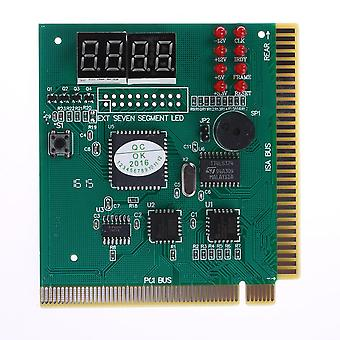 Main Diagnostic Card With Ribbon Cable Motherboard Post Tester