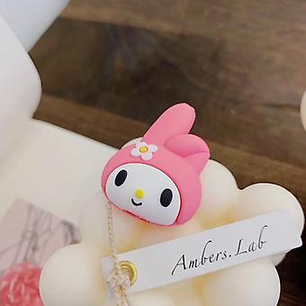 Cute Cartoon Melody Animal Cable Protector For I-phone Usb Cable Bite Holder