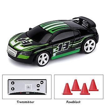 Ny 1:58 mini rc auton akkukäyttöinen kilpa-auto tyhjennys paketti kone drift-buggy bluetooth radio-ohjattu lelu lahja lapsille