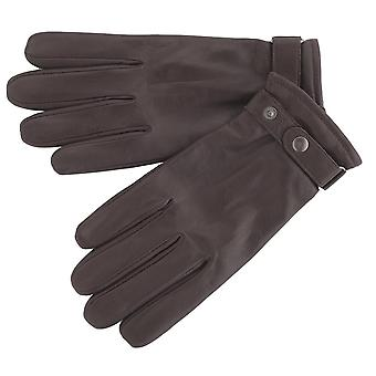 Men's Premium Leather Biker Style Gloves
