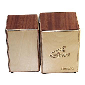 Gecko bongo-2 cs087 cajon siamilainen laatikkorummut käsi lyömäsoittimet rumpusoittimet