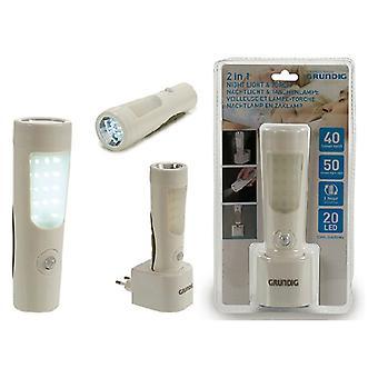 Yövalo Grundig LED (10 x 17 x 6 cm)