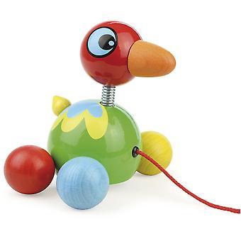 Vilac Island Bird Pull Toy