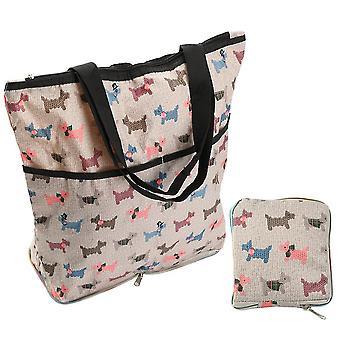 Supermarket Shopping Bag Portable Storage Bag Reusable Grocery Tote Handbag